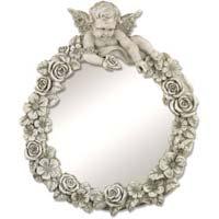 Fiberglass Designer Wall Mirror
