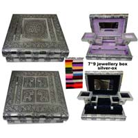 Silver Jewelery Boxes
