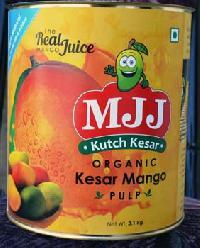 Organic Kesar Mango Pulp