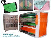 Big automatic ultrasonic microfiber fabric cutting machine for sales