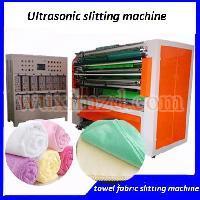 Fabric cloth automatic ultrasonic slitting machine