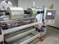 Film slitting rewinding machine for aluminum foil / copper foil / filter paper