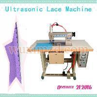 non woven ultrasonic lace sewing machine