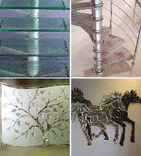 Glass Tukdi Work