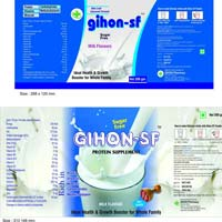 Gihon Sf Nutritional Food Supplement with Milk Flavour