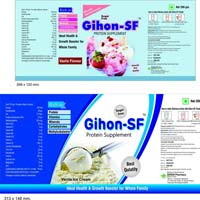 Gihon Sf Nutritional Food Supplement with Vanilla Flavour