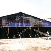 Tarpaulin Monsoon Shed Installation Services