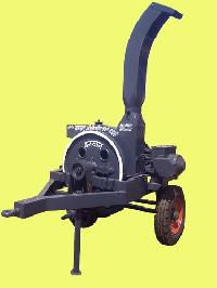 Cotton Stalk Chipper Machine