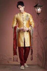 Mens Silk Churidar Pajama