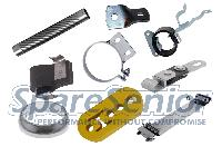 Exhaust Mounting Parts For Heavy Duty Vehicles