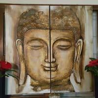 Gautam buddha painting manufacturers suppliers for Ayaan indian cuisine