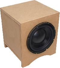 Speaker And  Woofer Box