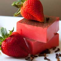 Strawberry Bath Soap