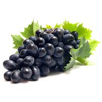 Fresh Black Grapes