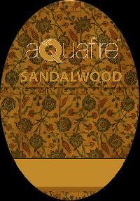 Aquafire Sandalwood Car Dangler