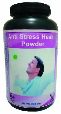 herbal anti stress health powder