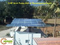 Solar Water Irrigation System