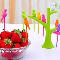 Birds Fruit Fork