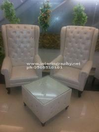 Marriage Hall Chair Set