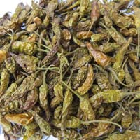 Dried Whole Green Chili