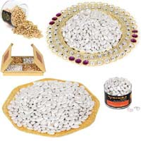 Gold & Silver Coated Dry Fruits