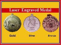 Laser Engraved Medal
