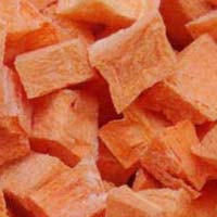 Dried Carrot Cubes