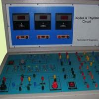 Diodes and Thyristors Power Circuit Trainer Kit
