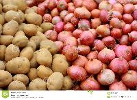 Onions,potatos