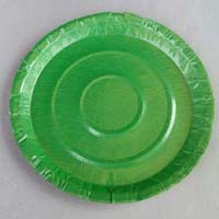 Disposable Green Paper Plates