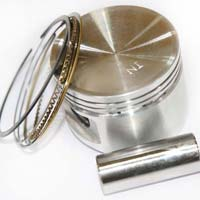 Piston Assembly For Three Wheeler