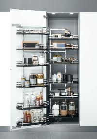 pantry pullout baskets