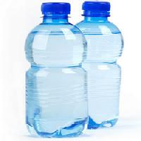 plastic pet water bottles