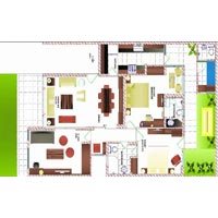 2d Interior Layout Designing Services