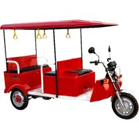 Queen E rickshaw