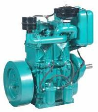Water Cooled Double Cylinder Diesel Engine