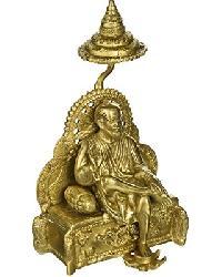 religious brass statue