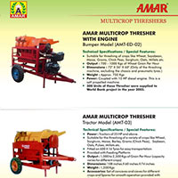 Amar Multicrop Threshers