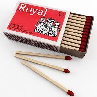 cardboard matches