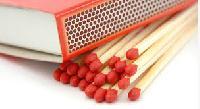 wooden safety matchsticks