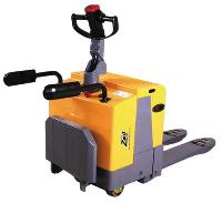 Electric Stand-on Hydraulic Pallet Truck