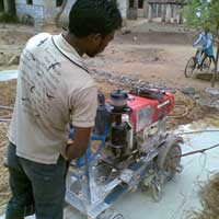 Kurb Cutting Machine