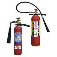 Carbon Dioxider Type Fire Extinguishers