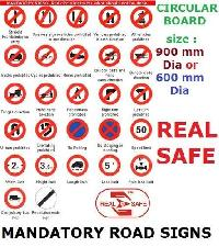 Mandatoary Sign Boards