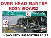 Overhead Sign Board