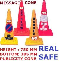 PVC Message Traffic Cone