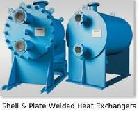 Shell and Plate Welded Heat Exchanger