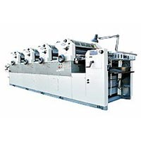 Four Colour Non Woven Bag Printing Machine