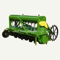 Rotavator With Seed Drill