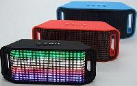 Colorful Led Light Subwoofer Hifi Speaker Support Usb Tf Card